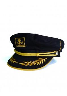 Капитанска Шапка - Черна