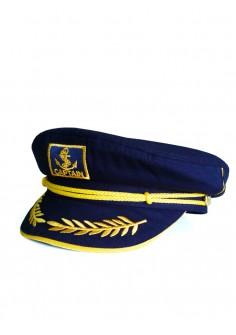 Капитанска Шапка - Тъмно синя