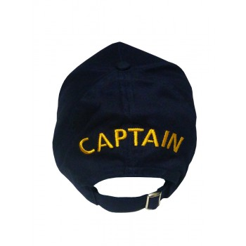 Капитанска Шапка с Козирка в Синьо Капитанска Шапка с Козирка в Синьо