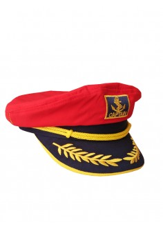 Капитанска Шапка - Червена