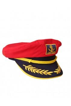 Капитанска Шапка - Червена Капитанска Шапка - Червена