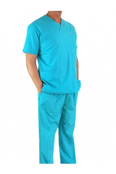 Мъжки Медицински Комплект - Светло син
