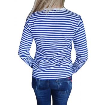 Дамска Моряшка тениска с Дълъг ръкав Дамска Моряшка тениска с Дълъг ръкав