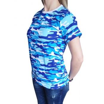 Дамска Моряшка тениска с къс ръкав Дамска Моряшка тениска с къс ръкав