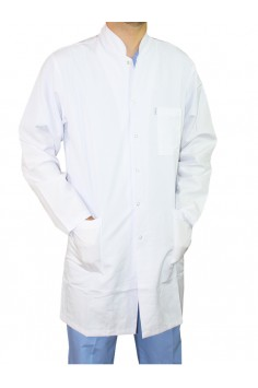 Мъжка Медицинска Манта Бяла