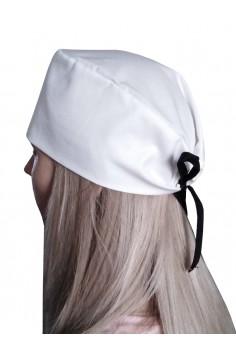 Хирургична шапка Бяла