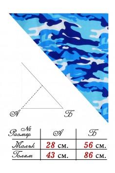 Триъгълна Кърпа за глава - Камуфлаж