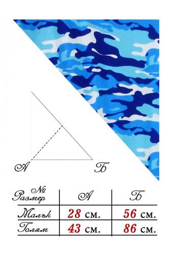 Триъгълна Кърпа за глава - Камуфлаж Триъгълна Кърпа за глава - Камуфлаж