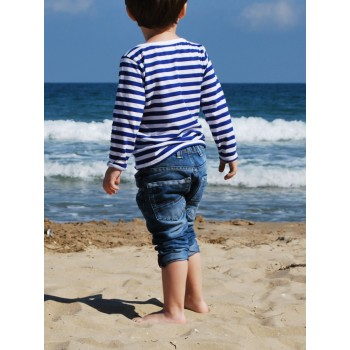 Детска моряшка блуза - дълъг ръкав Детска моряшка блуза - дълъг ръкав