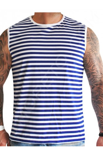 Моряшка тениска Без ръкав Моряшка тениска Без ръкав
