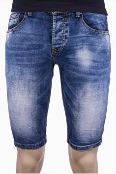 Мъжки къси дънки с изчистени линии