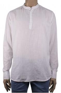 Мъжка риза с къс/дълъг ръкав (от XL до 5XL)