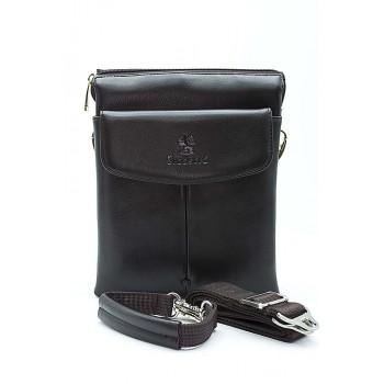Стилна мъжка чанта в кафяво