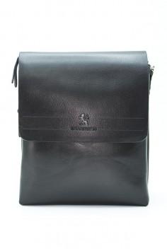 Мъжка чанта с перфорирана кожа