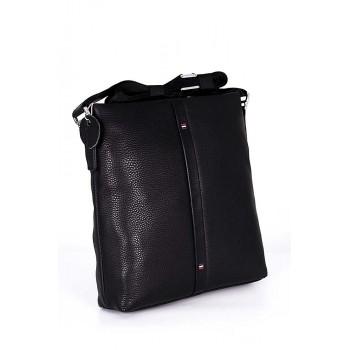 Стилна мъжка чанта от естествена кожа