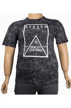 Мъжка тениска с надпис (от 2XL до 5XL)