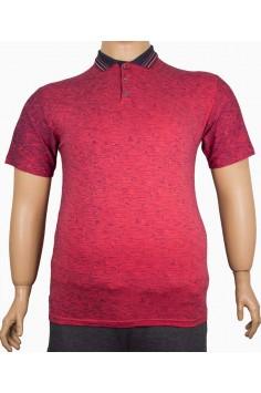Мъжка тениска с яка (от 2XL до 5XL)