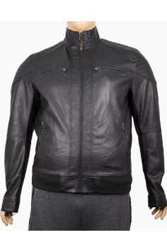 Мъжко късо яке от изкуствена кожа