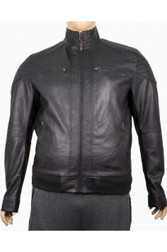 Мъжко късо яке от изкуствена кожа (от XL до 5XL)