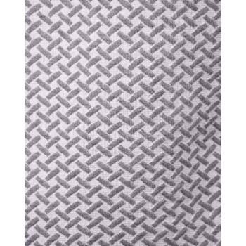 Мъжка блуза в светло сиво и бяло (от 2XL до 5XL)