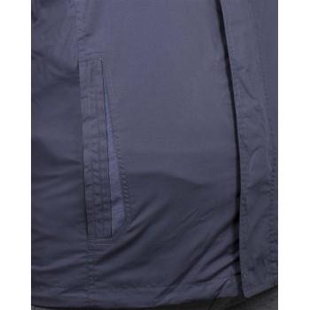 Мъжко пролетно яке в тъмно син цвят (Големи размери)