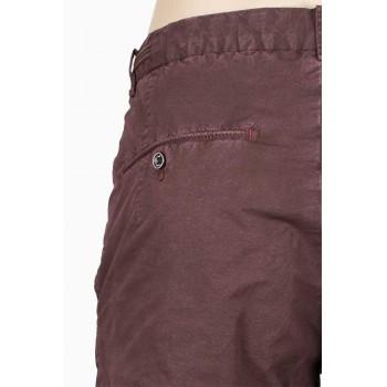 Къс панталон в тъмно бордо