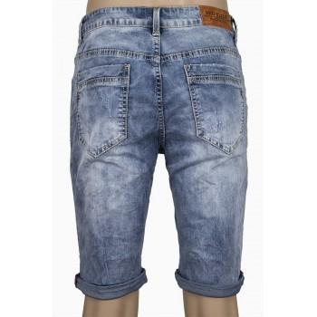 Къс дънков панталон с подгъв