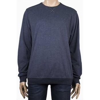 Стилна мъжка блуза в светло сив цвят