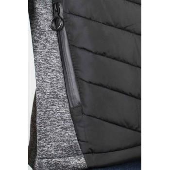 Мъжки суитшърт в тъмно сив цвят