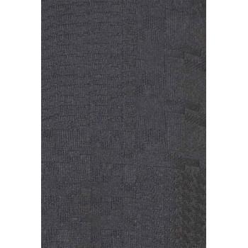 Мъжки издължен суичър в черен цвят