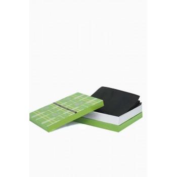 Мъжки портфейл класически дизайн в черен цвят без монетник