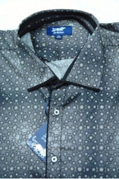 Мъжка риза с модерен десен (от 2XL до 5XL)