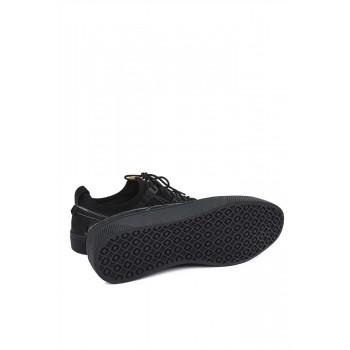 Мъжки обувки с бели шевове