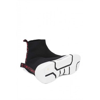 Мъжки обувки с бяла подметка