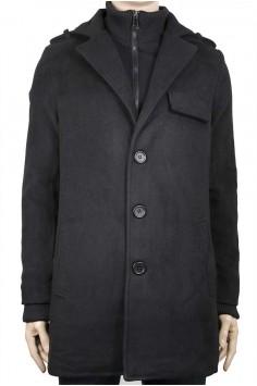 Мъжко палто с ревер
