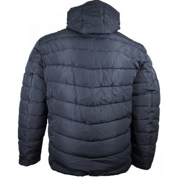 Зимно дебело мъжко яке в син цвят