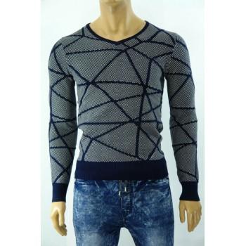 Плетена мъжка блуза