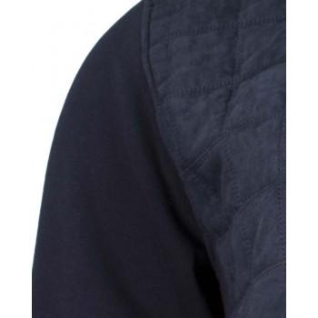 Мъжки суичър в тъмно син цвят
