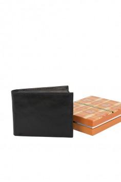 Изчистено портмоне в черен цвят