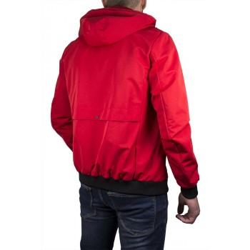 Мъжко пролетно яке в червен цвят