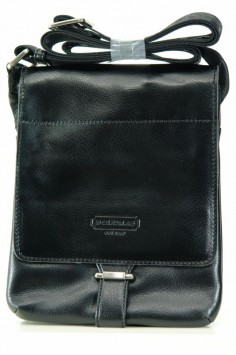 Стилна мъжка чанта от изкуствена кожа