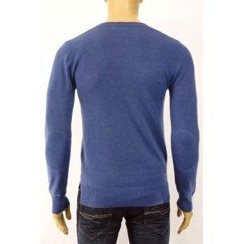 Вталена плетена мъжка блуза в пет цвята