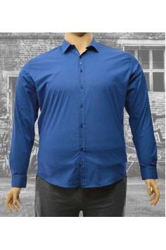 Стилна мъжка риза (от 2XL до 5XL)