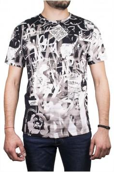 Мъжка тениска с надписи