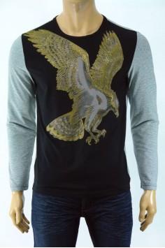 Мъжка блуза с принт- орел