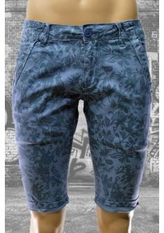 Модерни мъжки къси панталони в синьо