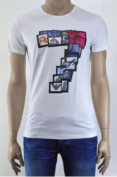Стилна мъжка тениска в два цвята