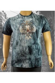 Мъжка тениска с интересен принт (от 3XL до 6XL)