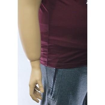 Модерна мъжка тениска с пролетен принт в два цвята (от 3XL до 6XL)