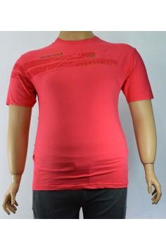 Мъжка тениска с принт в два цвята (от 2XL до 5XL)